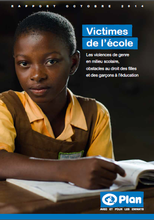 Photo couverture Rapport de Plan International France sur les violences de genre en mileu scolaire