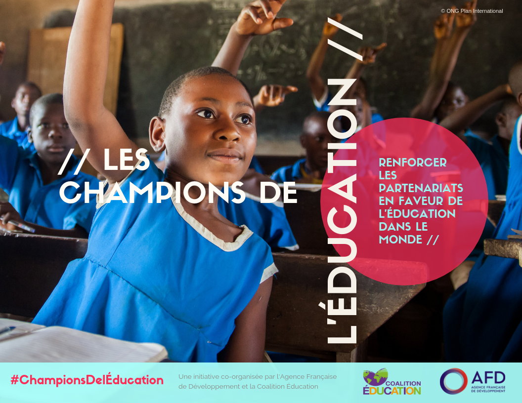 Photo couverture Lancement de l'initiative « Les Champions de l'éducation »